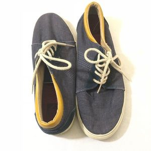Reef Shoes - Reef Boat Shoes Navy Blue Lace Up 12